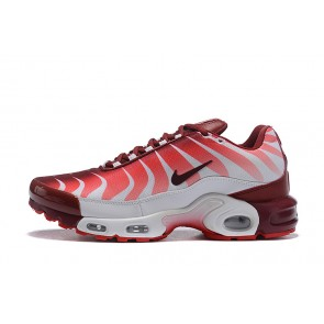 Femme/Homme Nike Air Max TN Blanc/Rouge