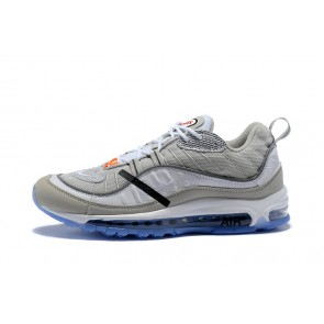 Femme/Homme OFF-WHITE x Nike nike air max girls 2017 style dresses plus size Bleu/Gris