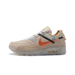 Homme OFF-WHITE x Nike Air Max 90 OW Beige