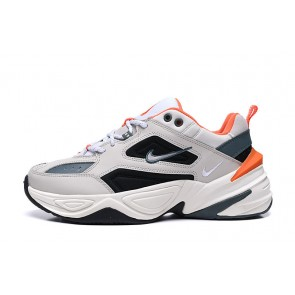 Homme Nike M2K Tekno Gris/Orange