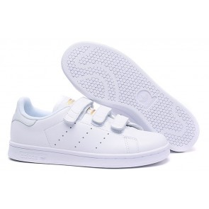Homme Originals Stan Smith Shoes Blanc/Or