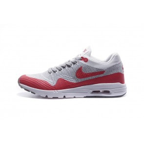 Homme Nike Air Max 1 Gris/Rouge/Blanc