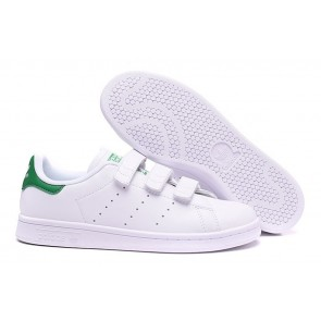 Homme Originals Stan Smith Shoes Blanc/Vert