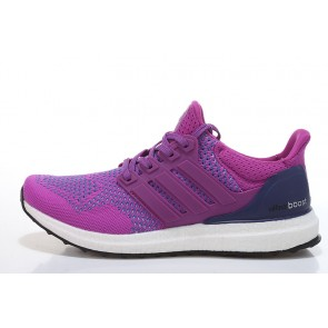 Homme Adidas Ultra Boost Violet/Blanc