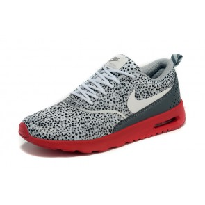 Femme Nike Air Max Thea Gris/Rouge