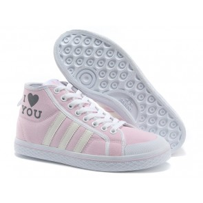 Femme Adidas  Honey Mid W Poudre