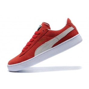 Homme Puma Suede Classic Rouge