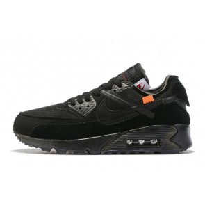 Homme OFF-WHITE x Nike Air Max 90 OW Noir