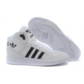 Homme Adidas Extaball High Top Noir/Blanc