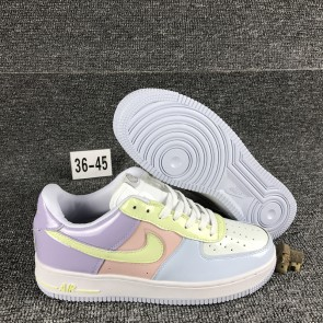 Femme/Homme Nike Air Force 1 Blanc/Rose
