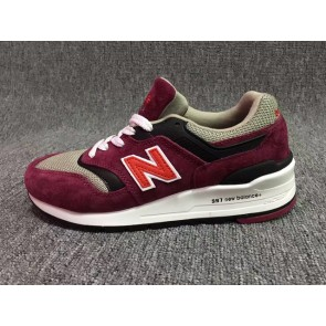Homme New Balance 997 Rouge/Beige