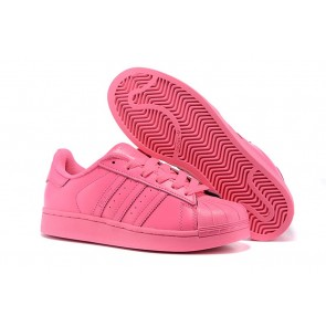 Femme Adidas Originals Superstar rouge