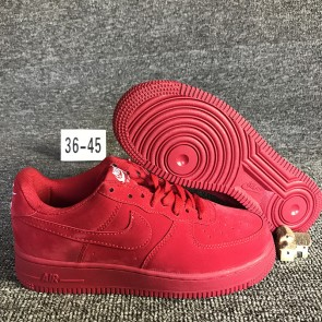 Femme/Homme Nike Air Force 1 Rouge