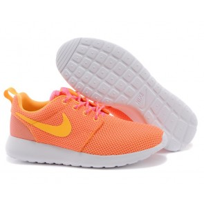 Femme Nike Roshe Run London Olympiques Orange