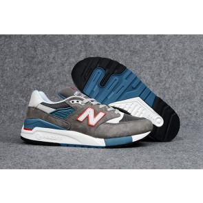 Homme New Balance 998 Blanc/Gris