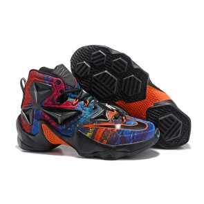 Homme Nike Lebron James 13 Noir/Bleu/Orange