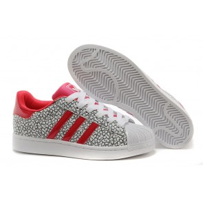 Homme Adidas Originals Superstar Noir-Blanc-Rouge
