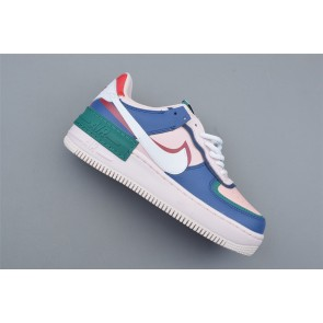 Femme Nike Air Force 1 Rose/Bleu