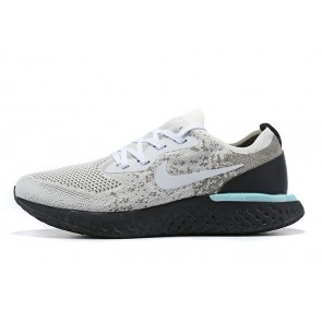 Women/Men Nike Epic React Flyknit Gris/Noir
