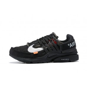 Homme Off-White x Nike Air Presto Noir