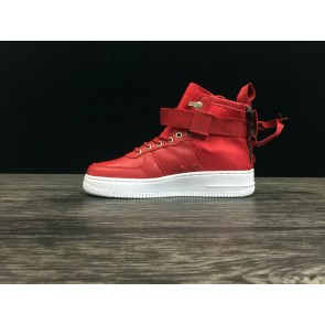 Femme/Homme Nike Air Force 1 Rouge/Blanc