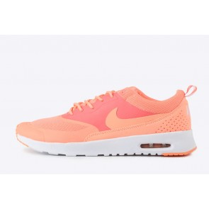 Femme Nike Air Max Thea Orange/Blanc