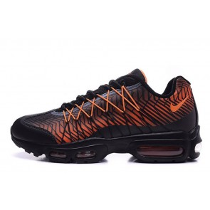 Femme Nike Air Max 95 Ultra Jacquard Noir/Orange