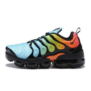 Homme Nike Air VaporMax Plus / TN Bleu/Noir/Orange