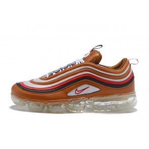 Femme/Homme Nike Air VaporMax 97 Rouge