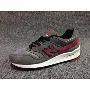 Homme New Balance 997 Gris/Rouge
